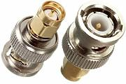 Produktbild: [Spedizione gratuita 7~12 giorni] acciaio legato Spina maschio BNC a SMA connettore adattatore rf maschio // Alloy Steel BNC Male Plug To SMA Male Plug RF Adapter Connector