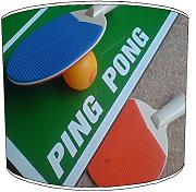 20,3 cm tavolo da ping pong stampa LAMPSHADE11, 30,5 cm