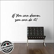 Adesivo Murale Frase Inglese Do It Wall Stickers Arredamento Muro Interior Design
