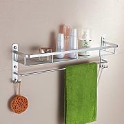bagno di alluminio spazio bagno rackscaffali di stoccaggioportasciugamani continentalbagno accessori