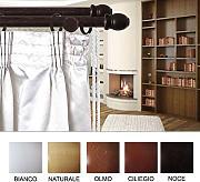 Bastoni per tende in legno confronta prezzi e offerte e for Bastoni per tende in legno prezzi