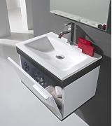 bathkitchens mobile da bagno lavabo e specchio modello montecarlo 60 senza morsetto