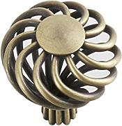 BigForest Retro Cabinet Drawer Knob Armadio Maniglia Hardware, confezione da 10