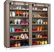 Blueidea® Portable 7-Tier Scarpiera Shoes Armadietto Immagazzinaggio Organizer Mensola del Pattino