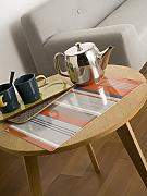 CALITEX Colorama Stripe Set di tavolo PVC Arancione 44 x 28 cm