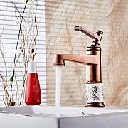 cnbbgj oro rose vernice vasca da bagno rubinetto europeo lavabo rubinettorose gold