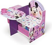 Delta Children 12TC85663MN - Scrivania in legno Minnie Mouse