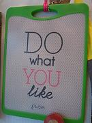 ELISS - TAGLIERE PP DO WHAT YOU LIKE VERDE 27X20 CM