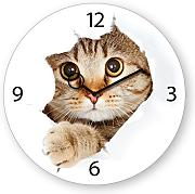 Produktbild: Eurographics U-DT9024 Time Art - Orologio da parete, motivo: Come Kitty!, 30 x 30 cm