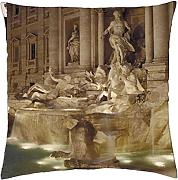 Fontana di Trevi – Throw Pillow Cover Case (45,7 x 45,7 cm)