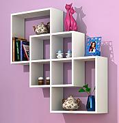 gentile mensola moderna da muro bianco mensola parete mensola libreria scaffale pensile