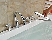 gowe chorme smalto per vasca da bagno hotcold 5 w con doccia