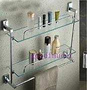 gowe cromata da muro per il bagno mensola da doccia a 2 ripiani per cosmetici