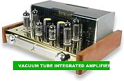 GOWE EL84 VACUUM TUBE AMPLIFICATORE INTEGRATO