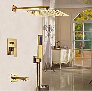 gowe montaggio a parete 8 unit doccia motivo smalto per vasca da