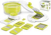 hh green salad robot da cucina multifunzionale con 15 parti differenti set insalatiera centrifuga