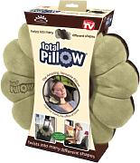 High Street TV - Total Pillow, cuscino da viaggio versatile della collezione New Innovations, colore: Marrone