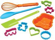 Kitchen Craft - Set di attrezzi da cucina per bambini Let's Make