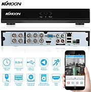 Produktbild: KKmoon 8 Canali 960H D1 Videoregistratore CCTV Network DVR H.264 HDMI Digital Video Recorder
