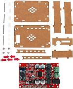 KKmoon TDA7492P 2 x 25 W Bluetooth 4.0 Audio Ricevitore amplificatore modulo Board + acrilico DIY Case Kit Cover