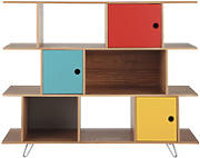 Produktbild: Libreria multicolore in legno L 145 cm Happy