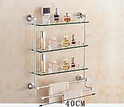 mensole bagno scaffale in vetro per bagno scaffale in vetro in alluminio mensola in