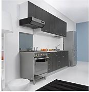 mobile sottolavello per cucina 80 x 50 per lavello inox pieghevole tela grigio
