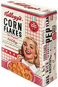 Nostalgic Art 30324 Kellogg' s Girl Corn Flakes Collage, Barattolo XL