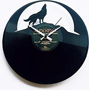 Orologio in vinile / vinyl clock DISCOCLOCK - DOC064 - THE WOLF