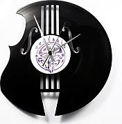 Orologio in vinile / vinyl clock DISCOCLOCK - DOC070 - THE BASS MAKER
