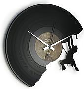 Orologio in vinile / vinyl clock DISCOCLOCK - DOC071 - THE CLIMBER