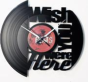 Orologio in vinile / vinyl clock DISCOCLOCK - DOL003 - WISH YOU WERE HERE