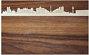 Produktbild: PanoramaKnife PB panel-16 a Berlin City, Tagliere, Legno, Marrone, 40 x 25 x 2 cm