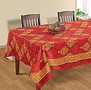 Produktbild: Polysateen Digitally Printed Rectangular Table Cover 60x120 Inch 12 Seater,RDSXXL-7022