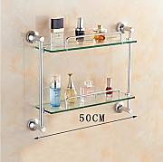 scaffali da bagno scaffale in vetro per bagno scaffale in vetro in alluminio dello spazio