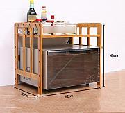 Scaffali In Legno Per Cucina. Trendy Scaffale Angolare A Parete Con ...