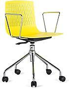 Sedie da scrivania confronta prezzi e offerte e risparmia for Sedia ufficio gialla