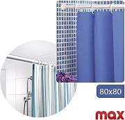 struttura a bastoni estendibile per tenda tende da doccia vasca bagno 80x80