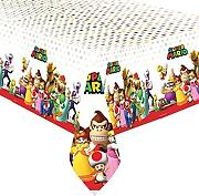 Super Mario Bros Plastic Party Tablecover
