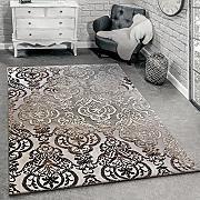 tappeto di design moderni motivi ornamentali tappeto per soggiorno motivo grigio mlange dimensione200x290