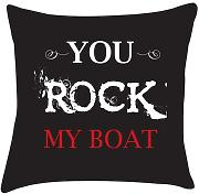 You Rock my barca Cuscino San Valentino