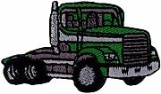 (Truck A/Green) Working Car Iron Patch (Large)