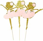 10 pezzi Cake Topper Balletto Princess Dessert per