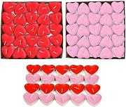 100 x Love Candles Candele romantiche Tea Light