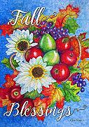 1112198 Fall Blessings 30 X 45 Cm Decorativo,