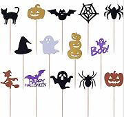 14pcs Decorazioni di Halloween Carte per