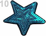 1pc 10 Baltico Ferro Onpatch Stelle, Applique