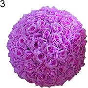 20,3 cm wedding artificiale rose seta fiore palla
