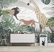 (200X140CM), 3D Wallpaper Mural - Pianta nordica