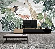 (250X200CM), 3D Wallpaper Mural - Pianta nordica